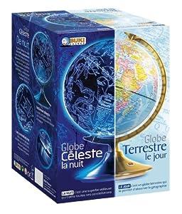 Buki - 7341B - Jeu Educatif - Science Et Nature - Globe Jour & Nuit