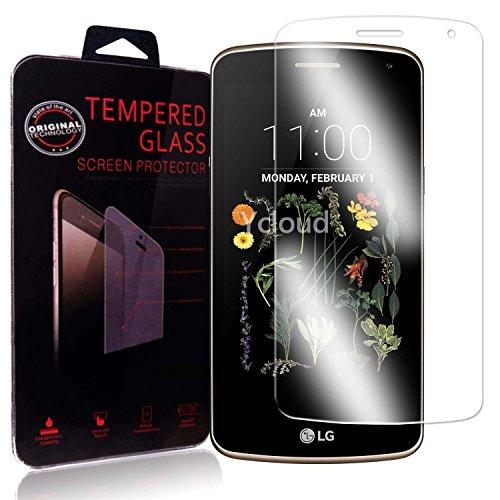 Ycloud Panzerglas Folie Schutzfolie Bildschirmschutzfolie für LG K5 screen protector mit Härtegrad 9H, 0,26mm Ultra-Dünn, Abger&ete Kanten
