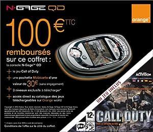 Coffret Nokia N-Gage QD + Call of Duty + Carte prépayée Orange