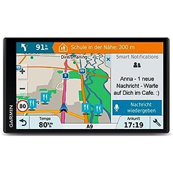 Garmin DriveSmart 61 Central EU LMT-D - Navegador GPS con mapas de por Vida