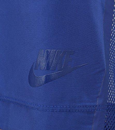 Nike Bonded Top Damen T-Shirt Azul (Deep Royal Blue/Htr/Deep Royal Blue)