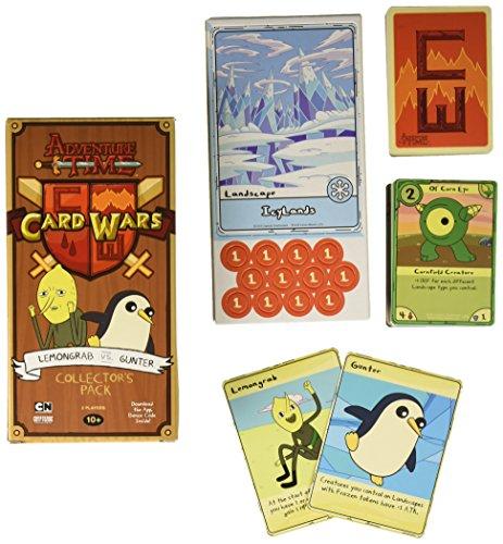 Adventure Time Card Wars Lemongrab Game