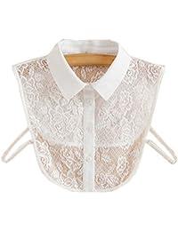Trendy Détachable Lace Collar Fake Collier Tout-Match Fake Half Shirt Vêtements Accessoires pour Femmes, # 08