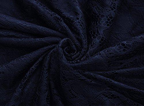 VENFLON -  Vestito  - linea ad a - Donna Blau