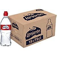 Lanjarón Agua Mineral Natural con Tapón Sport - Pack de 15 Botellas x 0.75 l - Total: 11.25 l