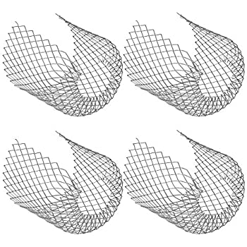 Pack Of 4 Metal Gutter Guards Downpipe Covers Easy