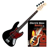 Rocktile Pro JB-30BK 70´s Deluxe E-Bass SET + Noten + CD