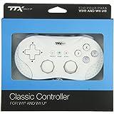 Manette classique blanche pour console de jeu Nintendo Wii U et Wii