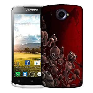 Snoogg Teddy Bears Designer Protective Phone Back Case Cover For Lenovo S920