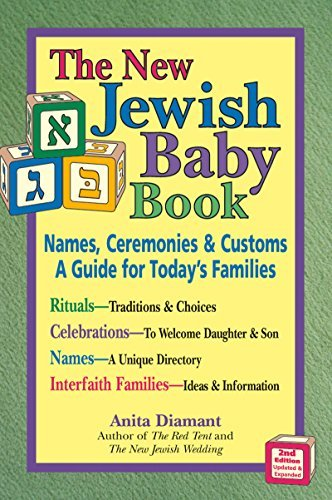 Portada del libro New Jewish Baby Book 2/E: Names, Ceremonies & Customs_A Guide for Today's Families by Anita Diamant (2005-03-01)