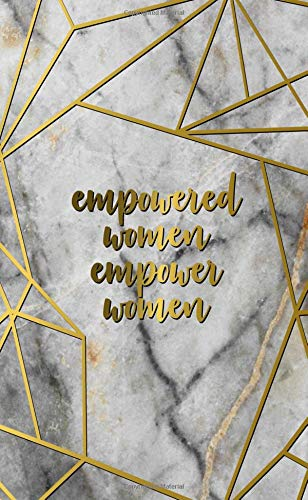 Empowered Women Empower Women: 2019-2020 Nifty Tundra Marble Two-Year  Monthly Pocket Planner with Phone Book, Password Log and Notebook  Pretty