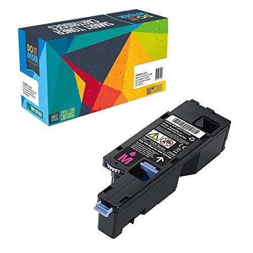 Do it Wiser ® Kompatibel Toner Hohe Kapazität für Dell E525w | 593-BBLZ (Magenta 1.400 Seiten) (Teilenummer Original Dell)