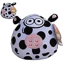 Pou Vaca 15cm Peluche con Sonido