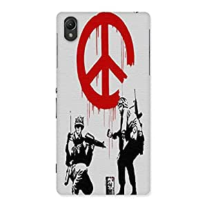 Unicovers Soldier Back Case Cover for Sony Xperia Z2