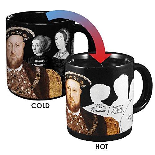 Unemployed Philosophers Guild Henry VIII Kaffeetasseder verschwindenden Frauen –Nach...