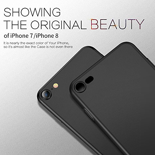 Cover iPhone 7HUMIXX Custodia Ultra Sottile Anti-Graffio E