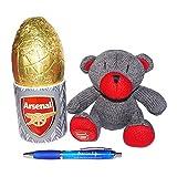 Arsenal FC Mug and Teddy Bear set with Easter egg