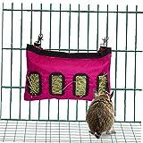 LAVALINK Hay Sacchetto Appeso Alimentazione Sacchetto della Staffa di Alimentazione Coniglio Cavia Chinchilla Small Animal Gabbia dell'animale Domestico