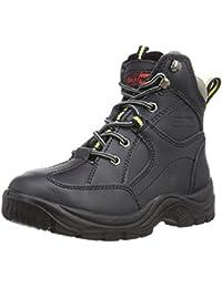 Grafters - Zapatillas de ante para hombre, color multicolor, talla 42.5