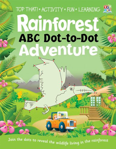 Rainforest ABC Dot-to-dot Adventure Cover Image