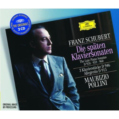 Schubert: 3 Klavierstücke, D.946 - No.1 In E Flat Minor (Allegro assai)