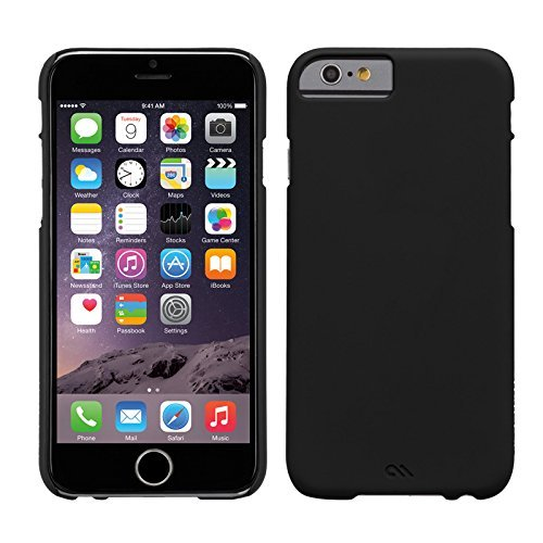 I Phone 6 Barely There Hard Back Case Black - Case-Mate