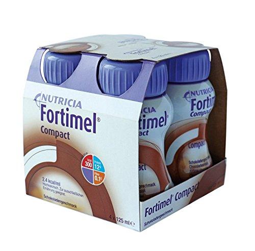 Fortimel Compact 2.4 Schokoladengeschmack, 8X4X125 ml -