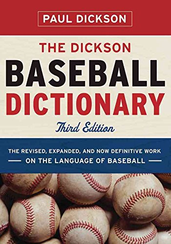 [(The Dickson Baseball Dictionary)] [By (author) Paul Dickson] published on (March, 2009) par Paul Dickson