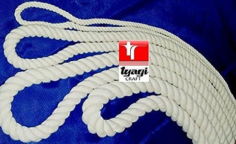 16mm 100% Natural Cotton Rope Bag Making Acrobatics Cat Scratch