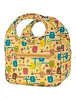 Descrizione: Bella Lunch Bag Box Tote riutilizzabile impermeabile con adorabile animale Immagine Borse di pranzo isolata per donne delle signore delle ragazze dei bambini degli studenti adolescenti Dimensione: 22.5x14.5x16.5cm; Materiale: Ins...