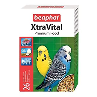 beaphar xtravital budgie/parakeet food 500g Beaphar XtraVital Budgie/Parakeet Food 500g 51JDnWxeJKL
