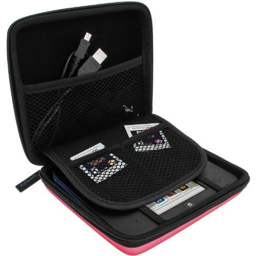 iGadgitz U2705 - Eva Hart Schutzhülle Kompatibel mit Nintendo 2DS - Pink -