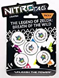 "5 NitroTag Cheat-Chips ""Zelda Breath of the Wild"" (Pack 4 mit Toon Link, Link Majora's Mask, Zelda, Link Twilight Princess, Zufalls-Figur)"