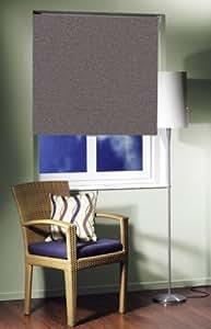 EASY-rollo store pare-soleil ardoise semi-transparent-opaque - 75 cm de largeur x 160 cm de longueur