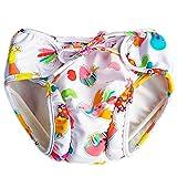 Cartone animato di nuoto regolabile mutanda nuotare pannolini a perfetta tenuta nuotata breve per bambino neonato toddle