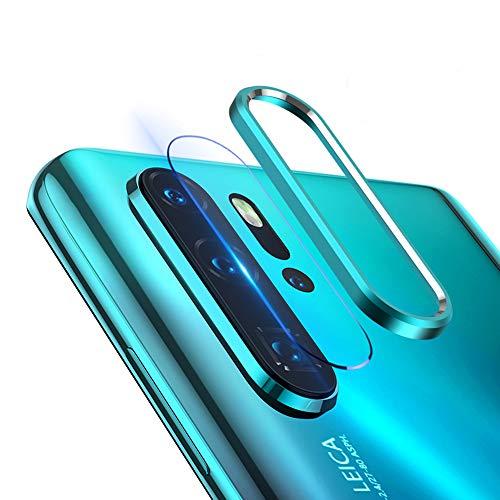 NOKOER Della Camera Lens Protector per Huawei P30 PRO Fotocamera Protezione Anello e Pellicola Protettiva per Lobiettivo 360 Gradi Proteggi la