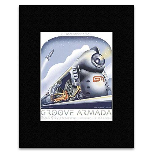 GROOVE ARMADA - Rock City 2004 Matted Mini Poster - 29x24.5cm -