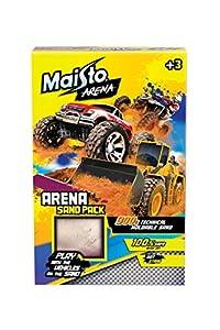 Maisto Arena 513505 - Paquete de Arena para Juegos (900 g, Arena moldeable para Jugar con Coches de Juguete)