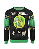 Rick and Morty Christmas Jumper Ugly Sweater Portal for Men Women Boys and Girls