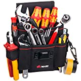 Best Electrician Tool Belts - NoCry Heavy Duty Canvas Tool Pouch with 7 Review