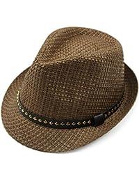 Amazon.it  cappello lana - Marrone   Abbigliamento sportivo   Uomo ... 64ea57a243b1