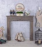 Kaminkonsole Antik Kamin Holzkamin Shabby Chic Dekokamin Holz Palazzo Exklusiv