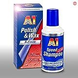 DR. WACK-SET Dr. Wack A1 Speed Shampoo 500 ml 2760 + A1 Polish & Wax 500 ml 2750