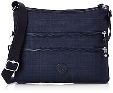 Kipling Women's Alvar Shoulder Bag Dazz True Blue