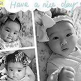 3Pcs Baby Hair Bands Sweet Bowknot Headbands Cute Baby Hair Ribbons For Girls