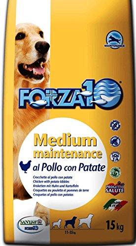 F10 Cane Medium Mant. Pollo/Patate kg. 15