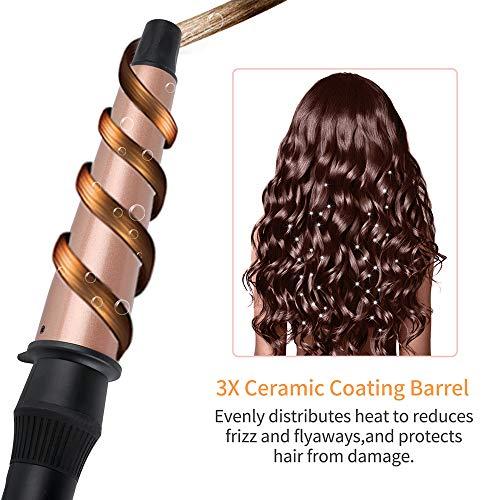 Xiaoxin tenaglie arricciacapelli 25mm 32 mm 38 millimetri conico capelli bigodini tormalina ceramica grande botte capelli curling bacchetta 160 ℃-220 ℃ dual voltage