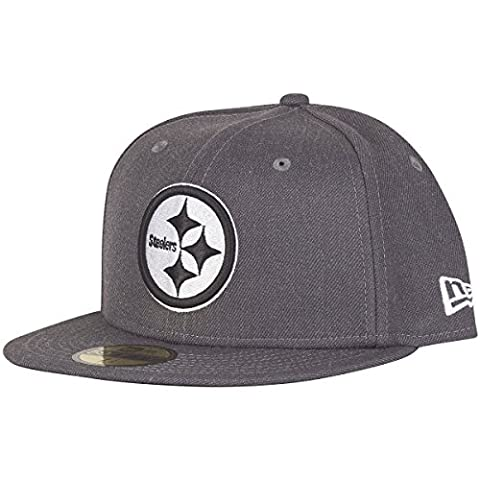 New Era 59Fifty Cap - GRAPHITE Pittsburgh Steelers gris