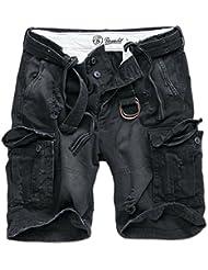 Brandit Shell Valley Heavy Vintage Pantalones Cortos Oliva