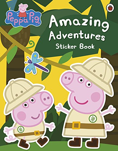 Peppa Pig: Amazing Adventures Sticker Book (Peppa Pig Adventure)